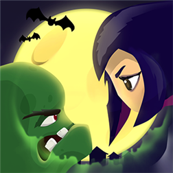 игра Girl vs Zombie для Windows Phone