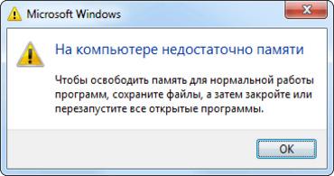 Сколько памяти нужно для Windows 7