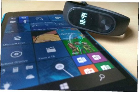 Mi Band для Windows Phone узнаем как работет