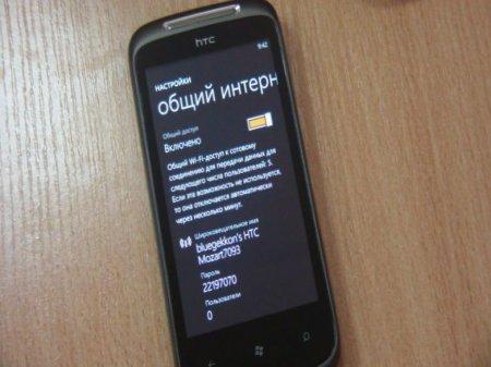 Использование Windows Phone как модема для доступа к интернету