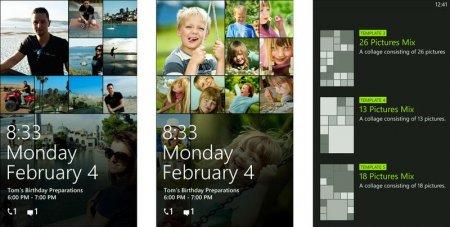 Блокировка Windows Phone и настройка экрана